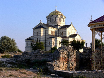 Владимирский собор в Херсонесе. фото В.Сударикова
