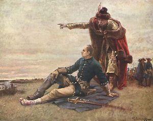 Гетман Мазепа и Карл XII