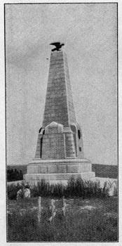 Памятник в честь Узун-Агачской битвы