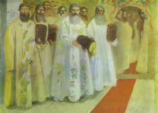 В ожидании Царя (худ. А.Рябушкин)