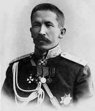 Л.Г. Корнилов. 1916 г.