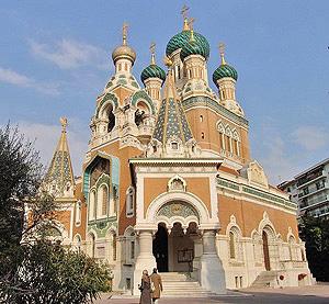 Свято-Никольский собор в Ницце