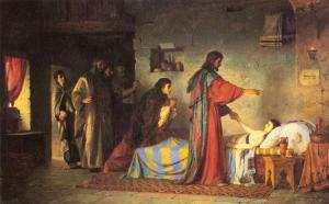 Воскрешение дочери Иаира. В.Поленов
