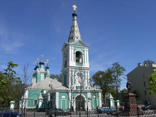 Сампсониевский собор в Петербурге