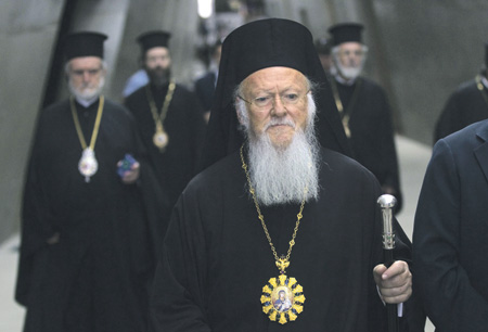 Патриарх Варфоломей заявил о своем первенстве в православном мире. Фото Reuters
