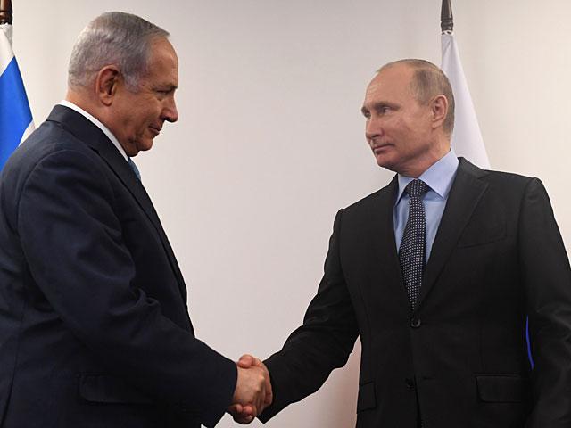 Владимир Путин и Биньямин Нетаниягу