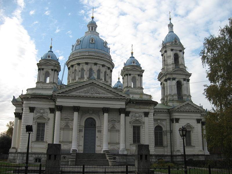 Троицкий собор в городе Суммы