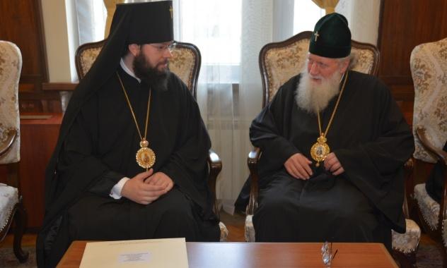 Святейший Патриарх Болгарский Неофит принял архиепископа Венского Антония