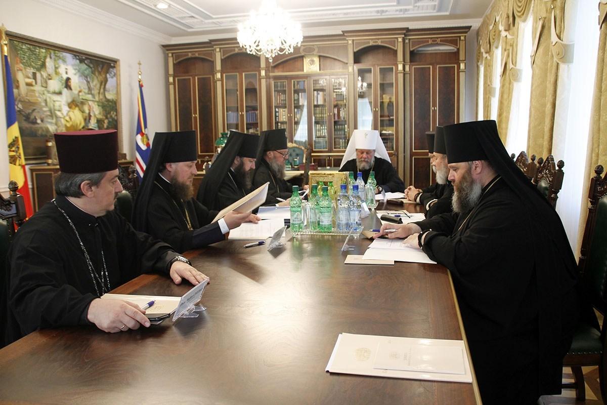 Заседание Синода Православной Церкви Молдовы