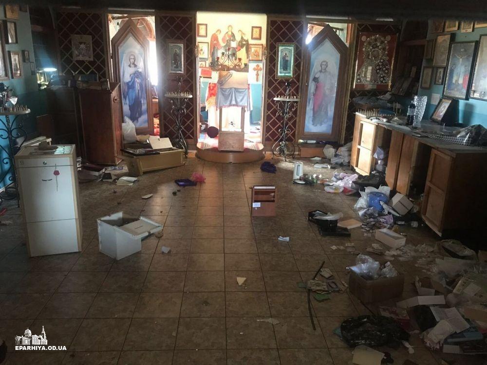 В Одессе осквернён храм Донской иконы Божией Матери