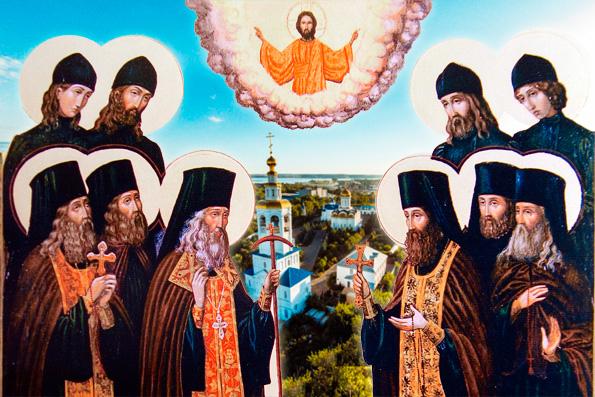 Преподобномученики Казанского Успенского Зилантова монастыря
