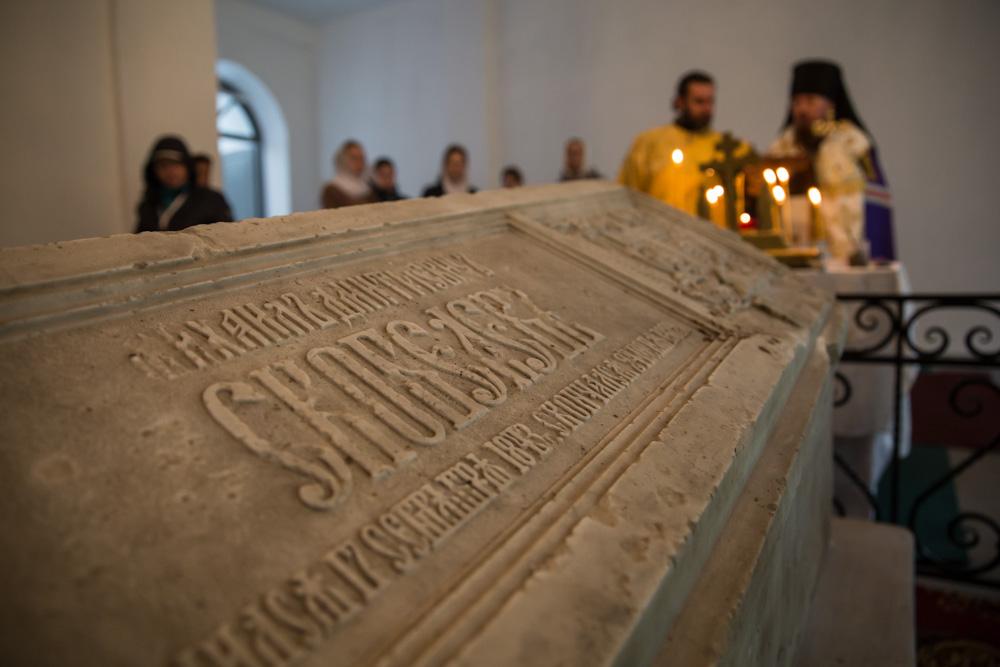 Панихида на могиле генерала М.Д. Скобелева