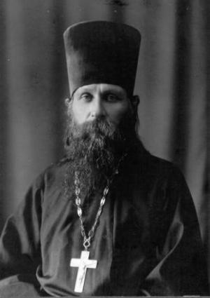 Протоиерей Николай Агафонников (1876-1937). Фото 1925г.