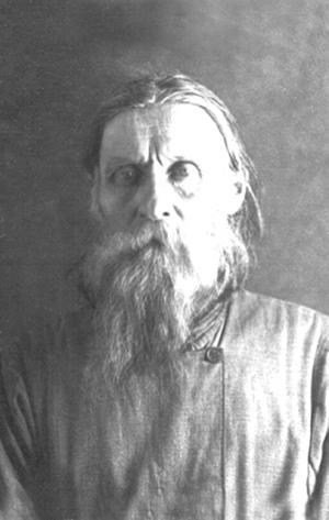 Протоиерей Николай Агафонников (1876-1937) в тюрьме, 1937г.