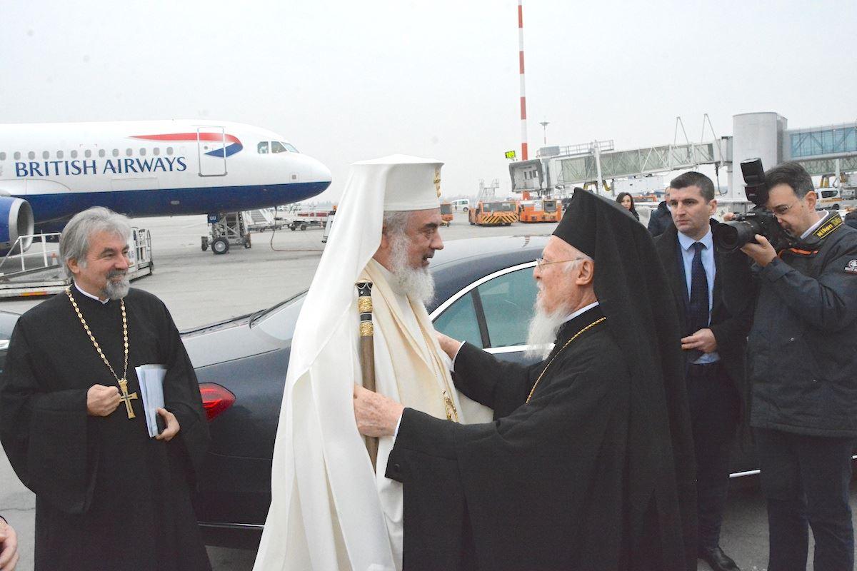 Патриарх Константинопольский Варфоломей и Патриарх Румынский Даниил