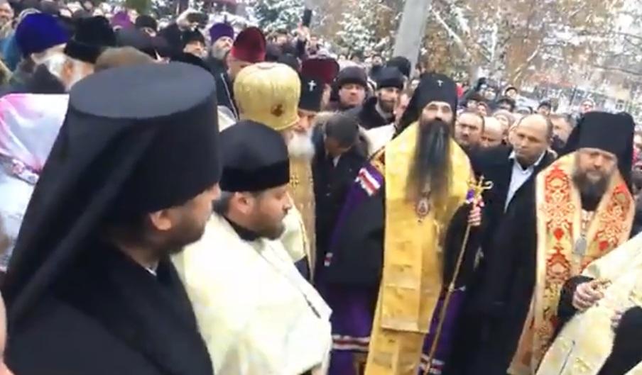 Встреча нового правящего архиерея Винницкой епархии владыки Варсонофия