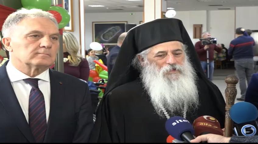 Представитель Македонской церкви митрополит Пётр