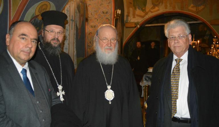 Патриарх Кирилл встретился с делегацией Элладской Православной Церкви
