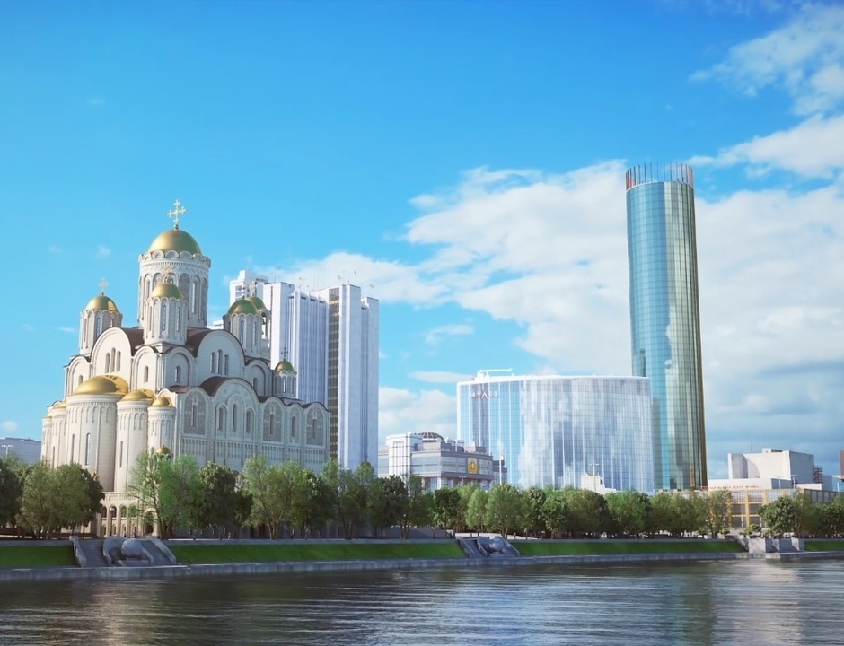 Проект храма святой Екатерины в Екатеринбурге