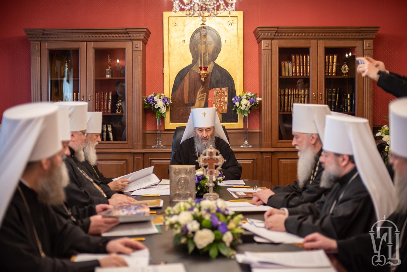 Заседание Св. Синода УПЦ 3 апреля 2019 года