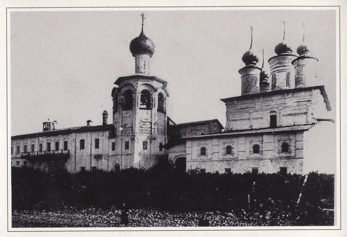 Преображенский собор Спасо-Каменного монастыря