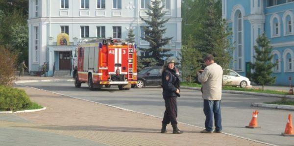 Здание Екатеринбургской епархии эвакуировали из-за сообщения о минировании