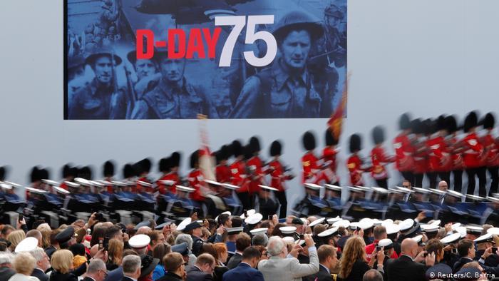 В Портсмуте проходят торжества по случаю 75-летия высадки союзников в Нормандии