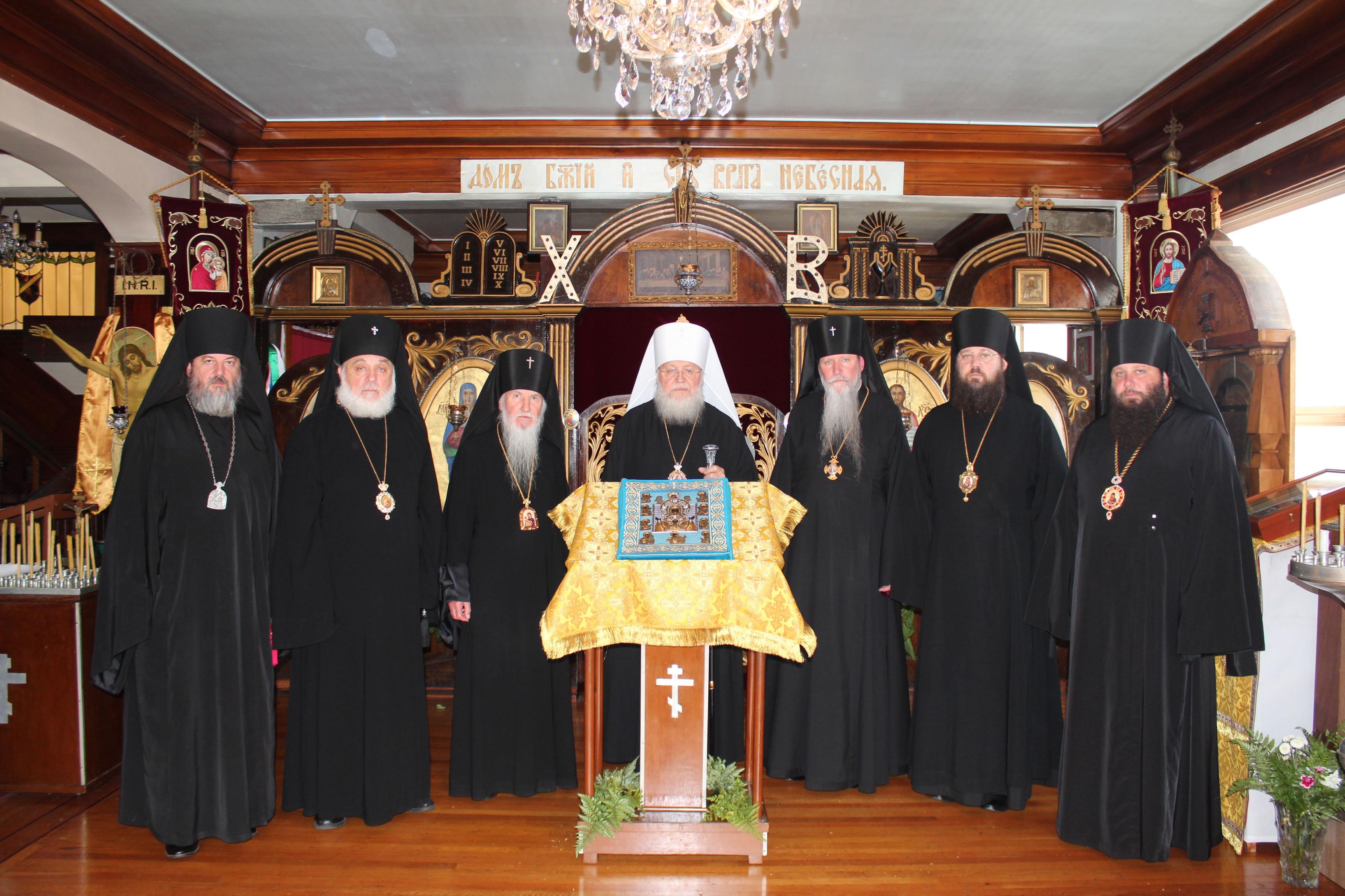 Члены Архиерейского Синода РПЦЗ