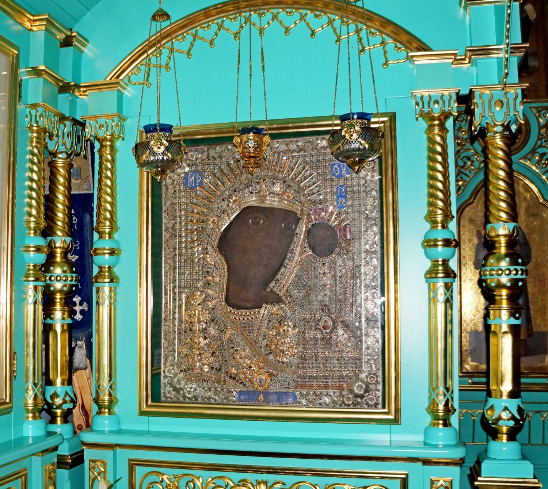 Чудотворная Чимеевская икона Божией Матери