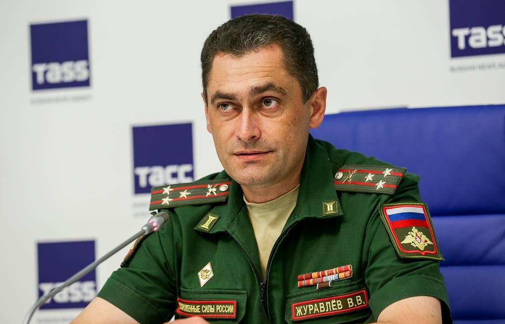 Полковник В.Журавлев