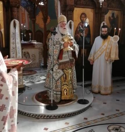 Патриарх Александрийский Феодор поминает Епифания Думенко на Кипре