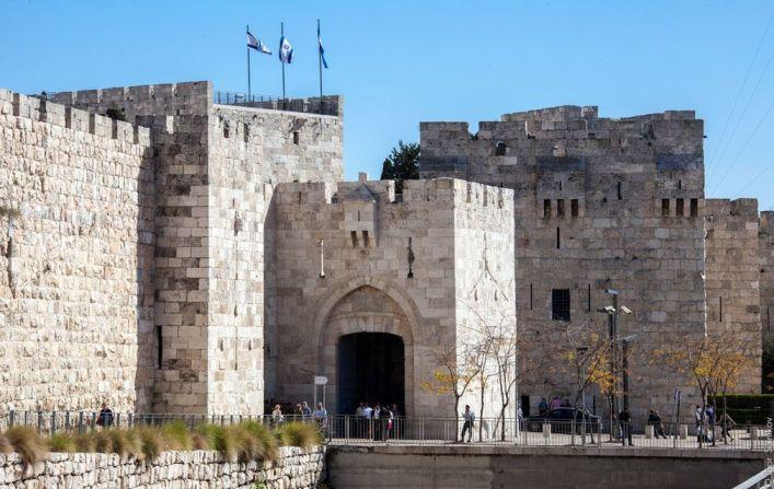Яффские ворота в Иерусалиме