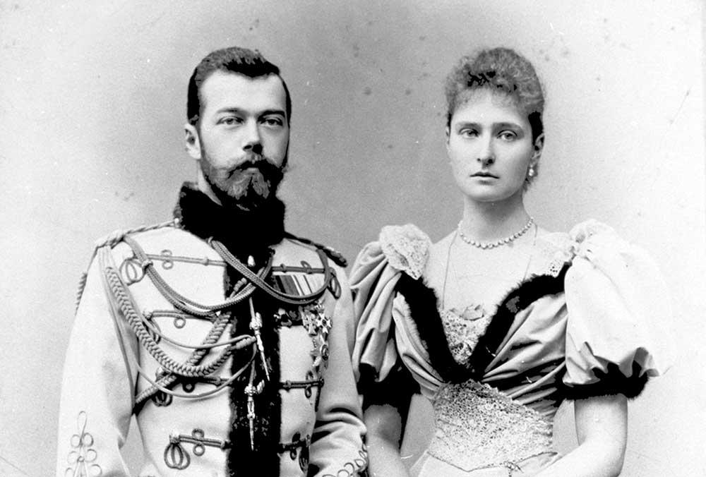 Цесаревич Николай II и Александра Федоровна