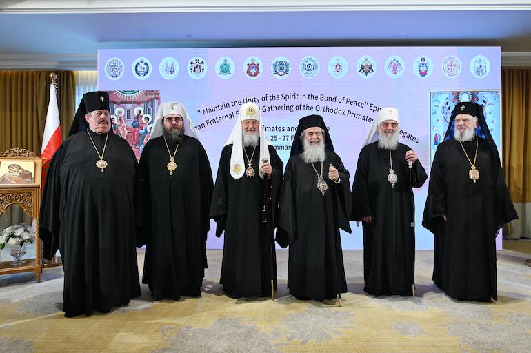 Участники Амманского Совета Поместных Церквей