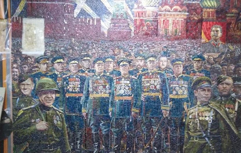 Сталин в храме ВС