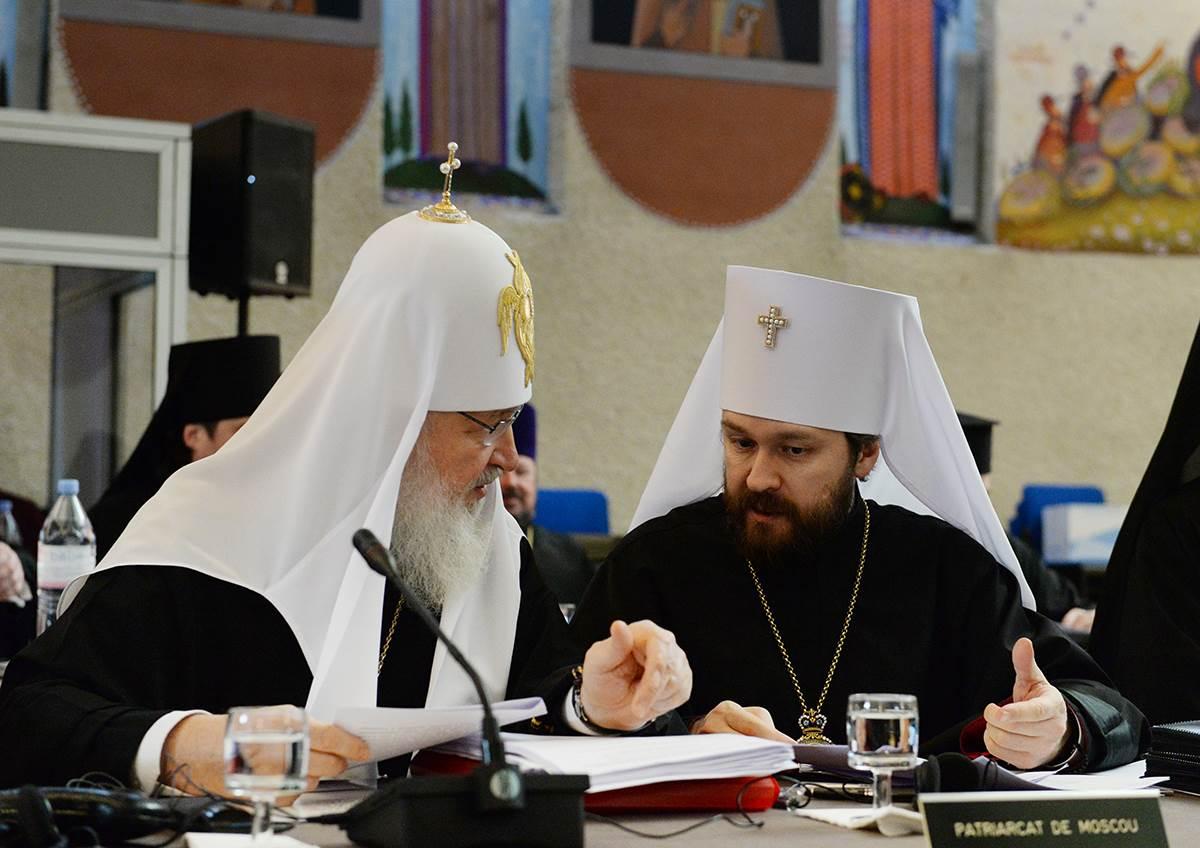 Святейший Патриарх Кирилл и митрополит Волоколамский Иларион