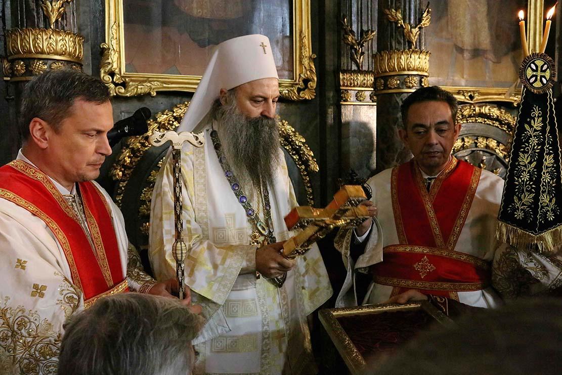 В Белграде состоялась торжественная интронизация нового Предстоятеля Сербской Православной Церкви
