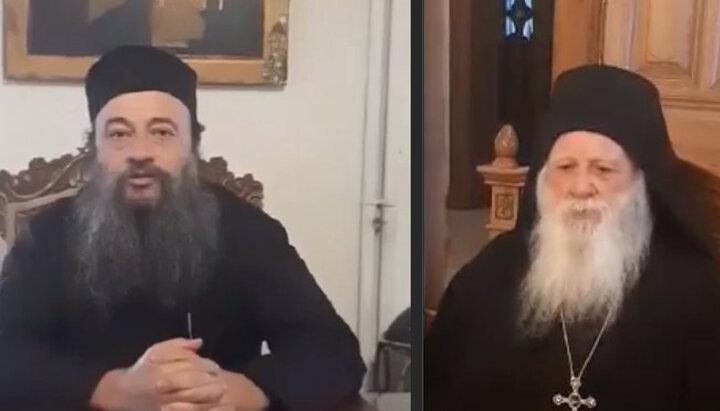 Игумены монастырей Пантократор и Ксенофонт