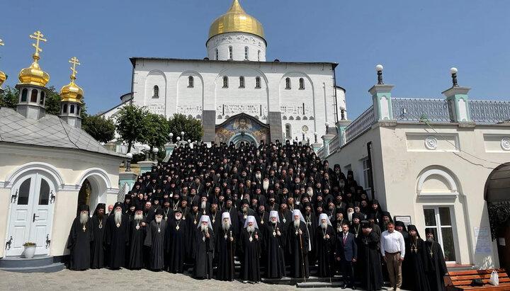 В Почаевской лавре состоялся Съезд монашества УПЦ