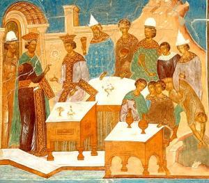 Образ брачного пира в евангельских притчах