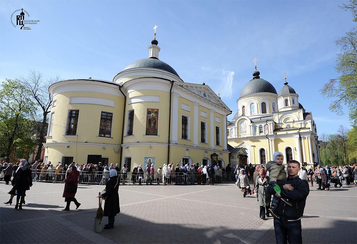 Матрона монастырь москва часы работы