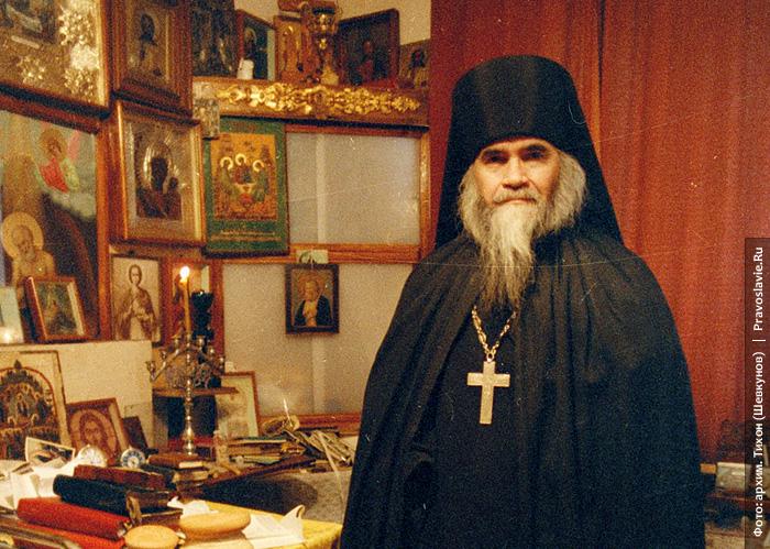 Архимандрит Адриан (Кирсанов). Фото: митрополит Тихон (Шевкунов)