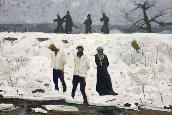 Дмитрий Шмарин. 1919 год. Красные пришли.