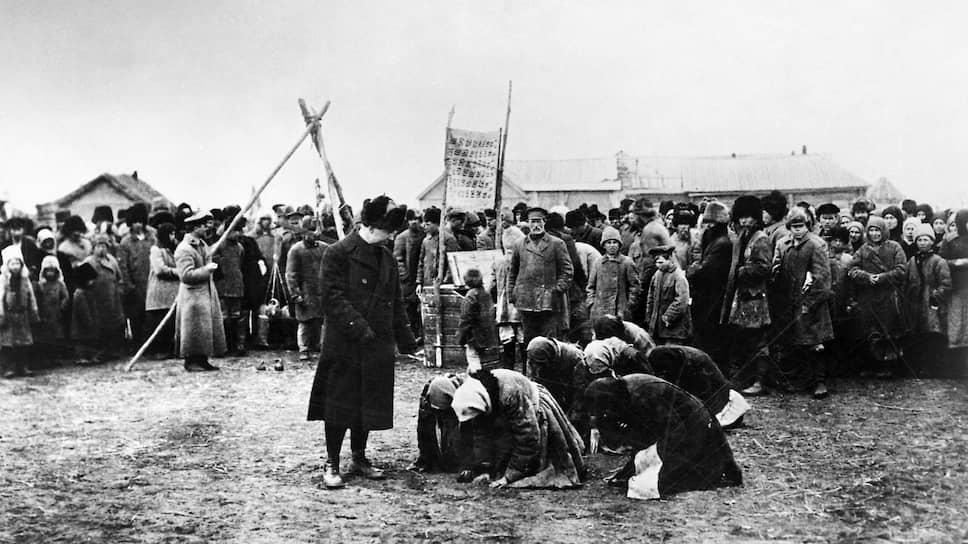 Пик крестьянского сопротивления пришёлся на 1930-й год: 13 453 крестьянских выступлений
